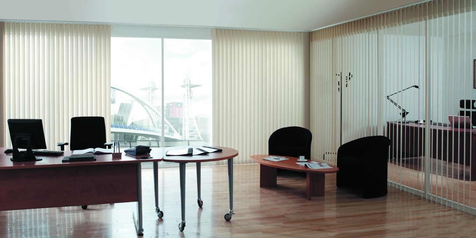 Những kiểu rèm cửa phòng công sở phổ biến hiện nay